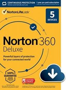Norton 360 – Tunnettu tietosuoja toimii vieläkin